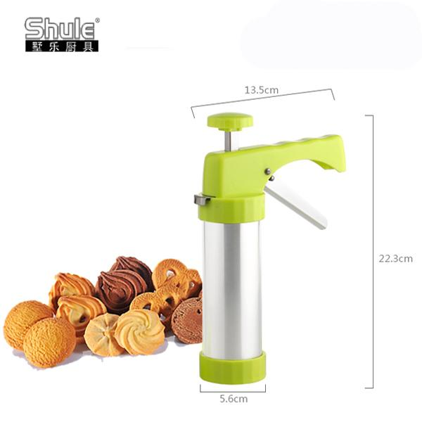 Plastic gun biscuit machine